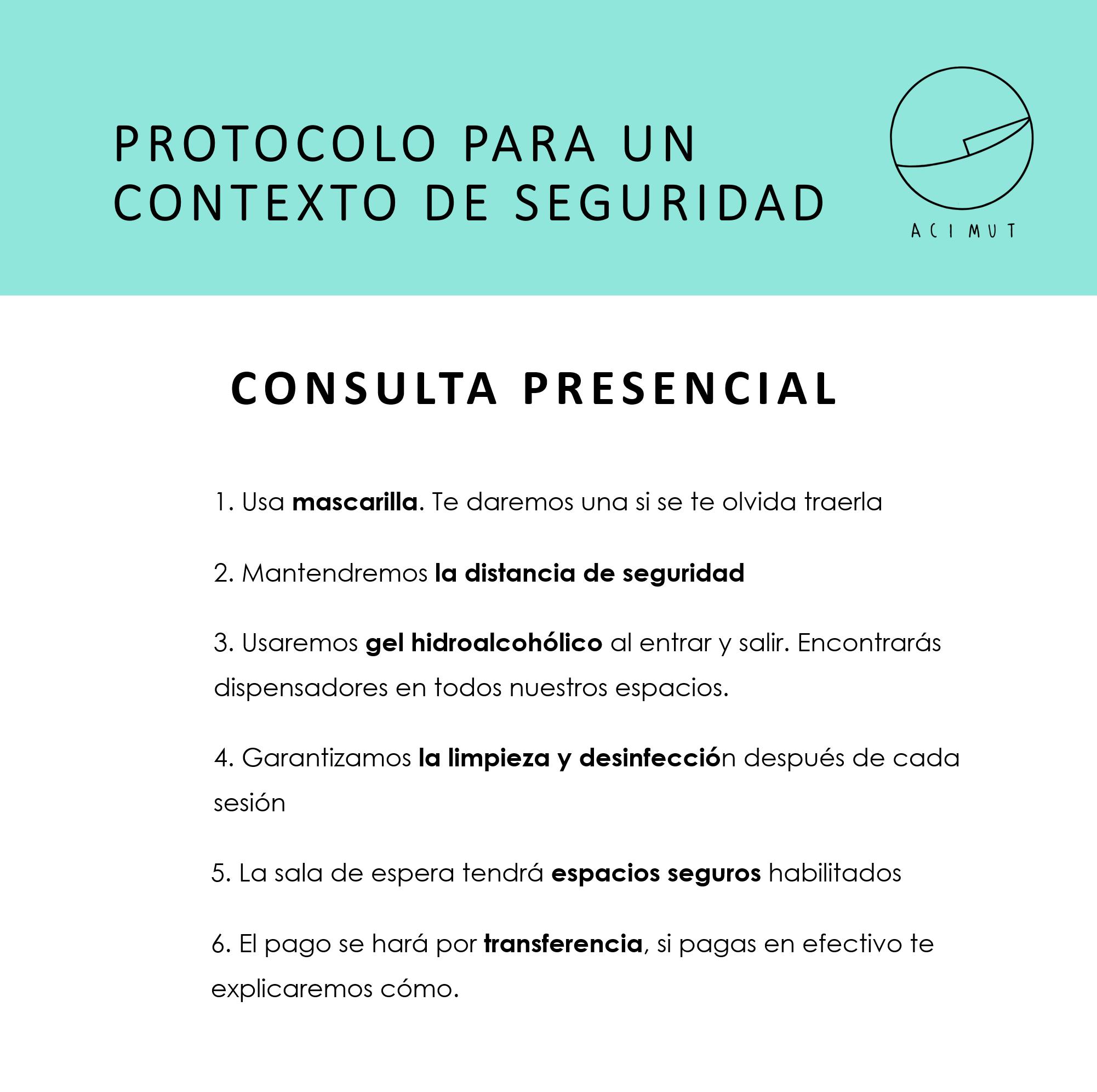 Protocolo coronavirus acimut
