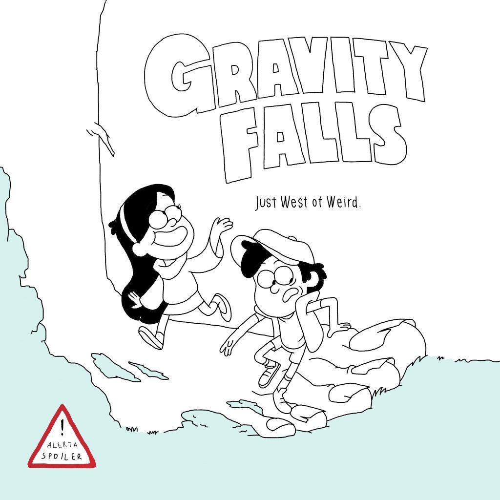 Gravity Falls y el misterio de hacerse mayor